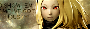 Kat Banner 'Dusty' - PASBR by BloodyViruz