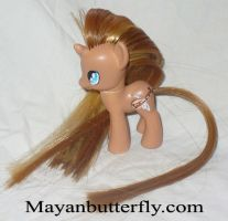 Brown Bard G4 Custom My Little Pony Boy by mayanbutterfly