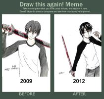 Draw This Again Meme XD by tamalord