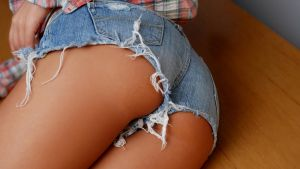 Jean Shorts by Kevin9kc