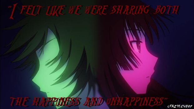 (CHIHIROxREA) Sharing Happiness and Unhappiness by CrAzYLove97