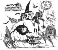Happy Halloween 2016!! by Kainsword-Kaijin