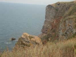 Rocks of the Kaliakra by WolfDemonG