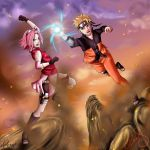 Collab Naruto : Teamwork by Celious