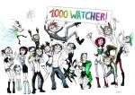 1000 Watcher Party Hard by Spaffi