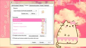 Cursor Pusheen Cat by StefaBieber