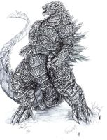 Debasute Gojira by The-KaijuEnthusiast