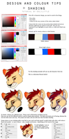 Shading and colour tutorial by delilittle