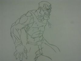 Victor Creed A.K.A Sabertooth by Thecrcker