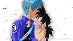 TruPiy-A kiss goodbye and a promise to keep by InstinctShadowSaiyan
