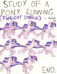 Study of a Pony Running by themostevercompany