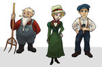Characterdesigns for a Social Mobile Game Concept by GwenStacy