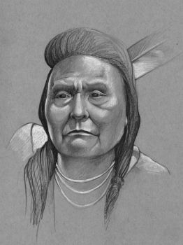 Chief Joseph of the Nez Perce by outsidelogic