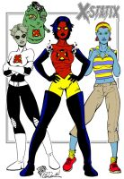 K Newburn's X-Statix Girls Flt by eiledon