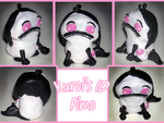 Gift_Kuroi-Kisin's ID Fimo by Moonylla