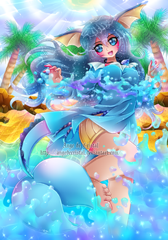 + Com + Water Game + by AngedeCristal