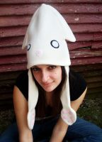 Large Crazy Squid Hat by jloli