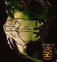 The Republic and Colonies of America by 4thElementGraphics