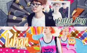 Pack Siganture #11 [ Chanyeol and Luhan ] by BunnyLuvU