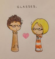 Glasses. by SuperAelita