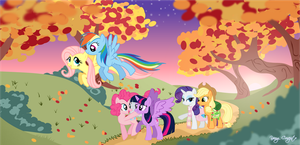 My Little Pony Autumn by CocoPommel-RD