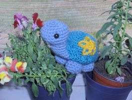 Lily the Turtle amigurumi by Sparrow-dream