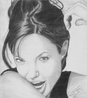 Angelina Jolie (Scanned) by M-Infernum