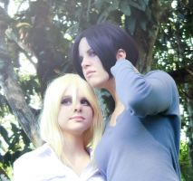 Ymir  and Christa by x-Crys-x