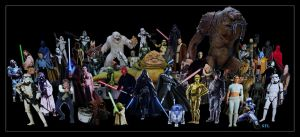 STAR WARS Tribute by scifilicious