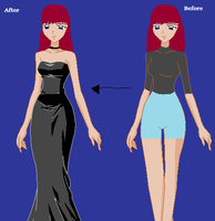 me before and after by heartsgirl