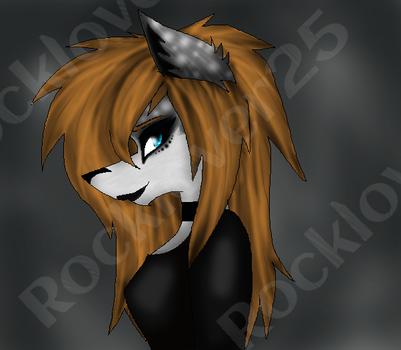 My Fursona (Updated) by rocklover25