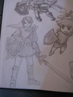 Link-Super Smash Bros. by Kumadawg