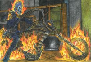 ryuk is the ghostrider by blackwinged-neotu