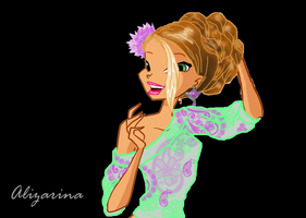 Flora new look 2 by Alizarinna