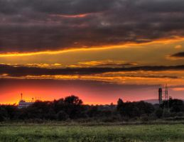 Another burning sky by Fursik