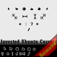 Inverted Ubuntu Cursors by RockerX-Rx