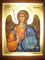 Archangel Michael by teopa