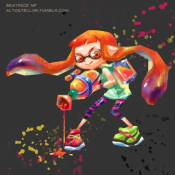 Splatoon! by altonova