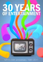 MTV 30th Anniversary poster by ufimcef