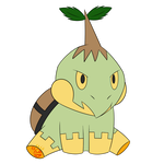 [PD] Turtwig (Tortro) by Geo-Space
