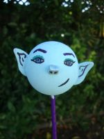 Blue Elf Antenna Ball by CLPennelly