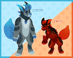 Gemigon Auction: Minosaur Hybrids [CLOSED] by catdoq