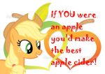 Valentine-Applejack by mrmountaindew