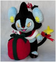 Christmas Luxio by Patchwork-Shark