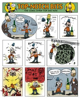 comic number one by damianblake