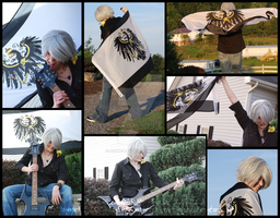 Hetalia Cosplay- Prussia Guitar Collab 1 by Anime-Kat2002