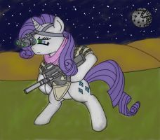 Rarity on a night hunt... by Rex42