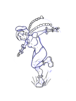 Cammy commission WIP2 by Volador-N7
