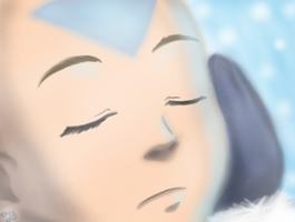 Avatar Month: Aang by Baeacnkgi