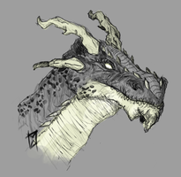 Dragon Head by miwys